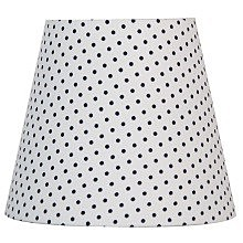 Абажур 7782-1 WHITE WITH BLACK DOTS Lamplandia White With Black Dots